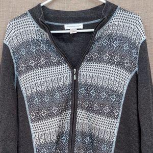 💙SALE 3/$20💙 Christopher & Banks Sweater Jacket